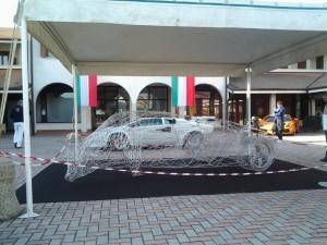 Lamborghini FEAL scultura