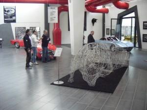 Lamborghini FEAL esposta al nuovo museo Ferruccio Lamborghini