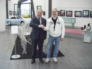 Io ed il sig. Tonino Lamborghini